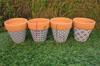 LV-0137 VASO DE BARRO DECORATIVO (96)